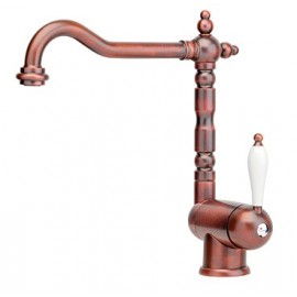 FRANKE OLD ENGLAND SINGLE LEVER SINK MIXER TAP COPPER