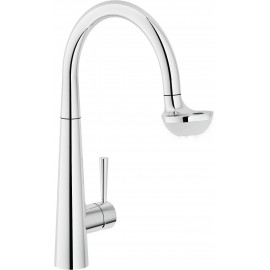 NOBILI LUCE SINGLE LEVER MIXER WITH LED LIGHT CHROME