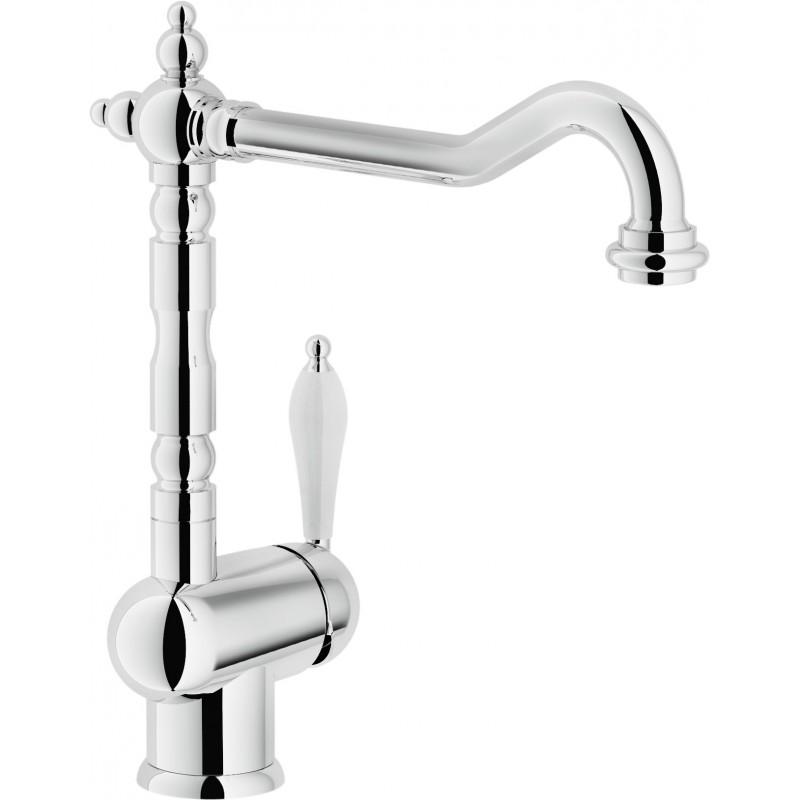 robinet chrome latest robinet col de cygne voies chrome