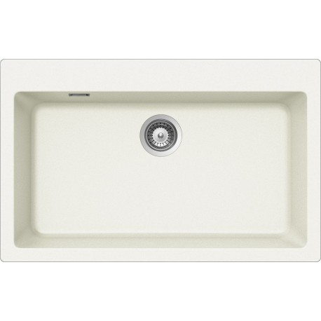 SCHOCK KITCHEN SINK PRIMUS N100XL AP - 1 BOWL CRISTALITE WHITE ALPINA