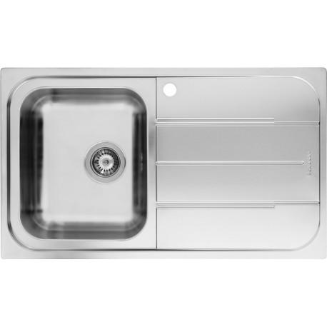SCHOCK MASTER D100 SX KITCHEN SINK 1 BOWL STAINLESS STEEL FAB Appl...