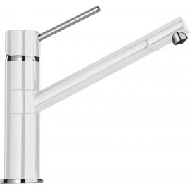SCHOCK AQUATECH SINGLE LEVER SINK MIXER TAP WHITE ALPINA
