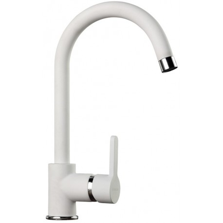 SCHOCK AQUAALTO SINGLE LEVER SINK MIXER TAP POLARIS EXTRA WHITE