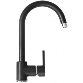 SCHOCK AQUAALTO SINGLE LEVER SINK MIXER TAP PURE BLACK