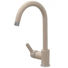 SCHOCK AQUAALTO SINGLE LEVER SINK MIXER TAP OATMEAL