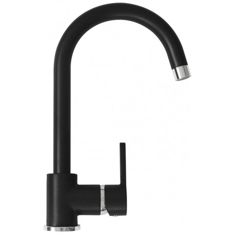 SCHOCK AQUAALTO SINGLE LEVER SINK MIXER TAP MATT BLACK