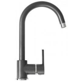 SCHOCK AQUAALTO SINGLE LEVER SINK MIXER TAP STEEL