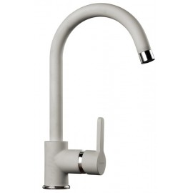SCHOCK AQUAALTO SINGLE LEVER SINK MIXER TAP ALUMINIA