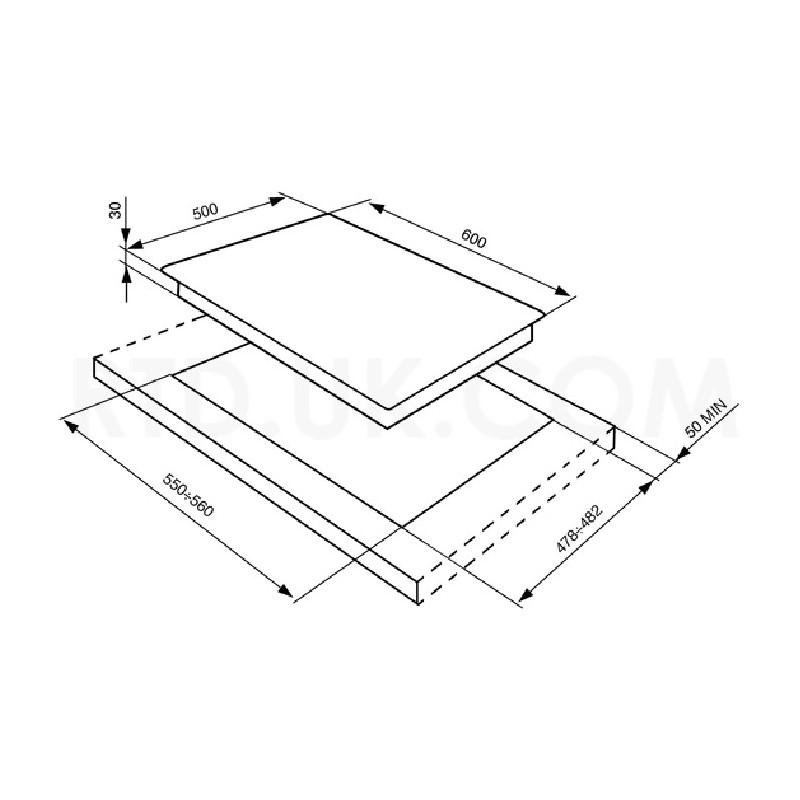 smeg gaskochfeld sr764po creme designlinie cortina 60 cm fab appli. Black Bedroom Furniture Sets. Home Design Ideas
