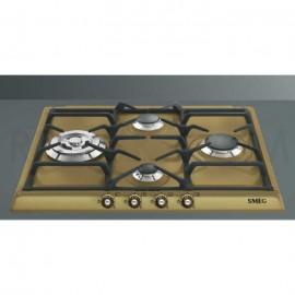 TABLE DE CUISSON SMEG SR764OT LAITON ESTHÉTIQUE CORTINA 60 CM