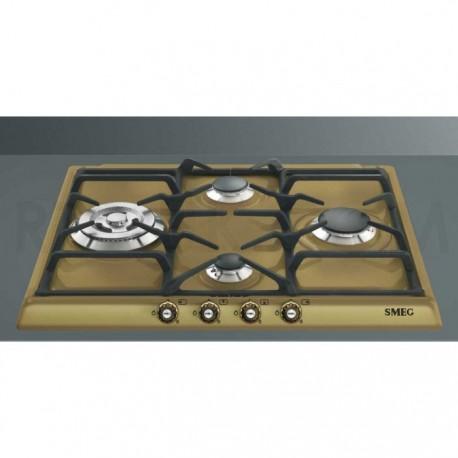TABLE DE CUISSON SMEG SR764RA CUIVRE ESTHÉTIQUE CORTINA 60 CM