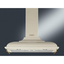 SMEG WALL MOUNTED CHIMNEY HOOD KC19POE CREAM AESTHETIC CORTINA 90 CM EEC A