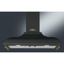 SMEG WALL MOUNTED CHIMNEY HOOD KC19AOE ANTHRACITE AESTHETIC CORTINA 90 CM EEC A