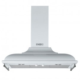 SMEG WALL MOUNTED CHIMNEY HOOD KC19BSE WHITE AESTHETIC CORTINA 90 CM EEC A