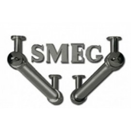 SMEG KITKCO LATERAL BARS AND LOGO FOR CORTINA HOODS OLD BRASS