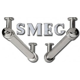 SMEG KITKCSX LATERAL BARS AND LOGO FOR CORTINA HOODS CHROME