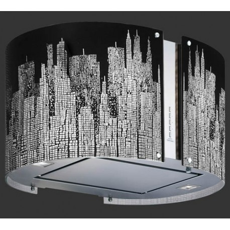 FALMEC HOTTE DÉCORATIVE ILOT MIRABILIA LED MANHATTAN 85 CM