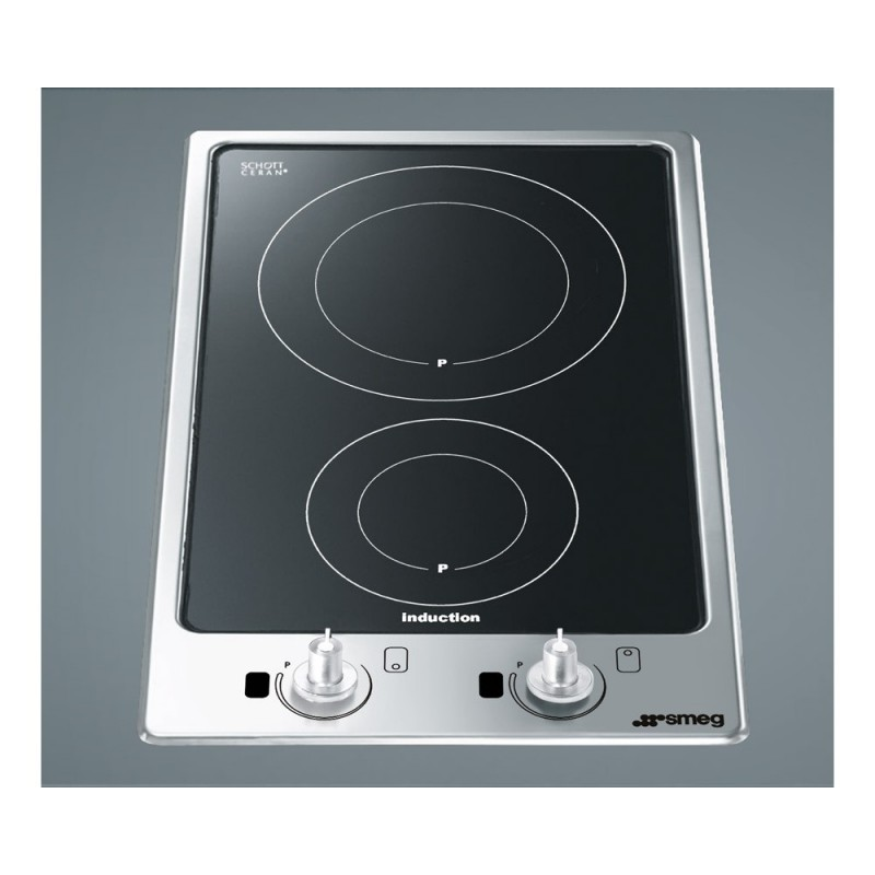 Table de cuisson induction smeg domino pgf32i 1 30 cm - Table induction blanche pas cher ...