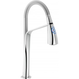 NOBILI KIZOKU SINGLE LEVER MIXER WITH LED LIGHT CHROME