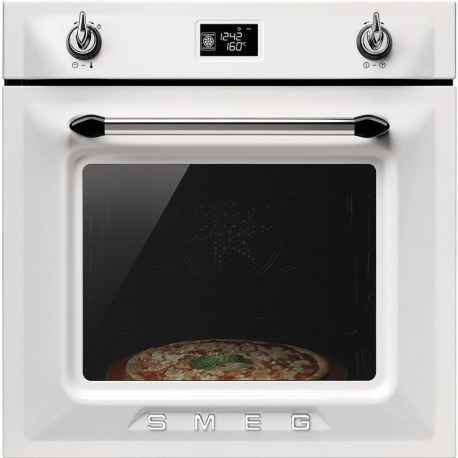 SMEG PYROLITIC MULTIFUNCTION PIZZA OVEN SFP6925XPZ VICTORIA AESTHETIC STAINLESS STEEL