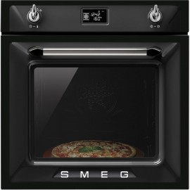 SMEG MULTIFUNCTION PIZZA OVEN SF6922NPZE VICTORIA AESTHETIC BLACK