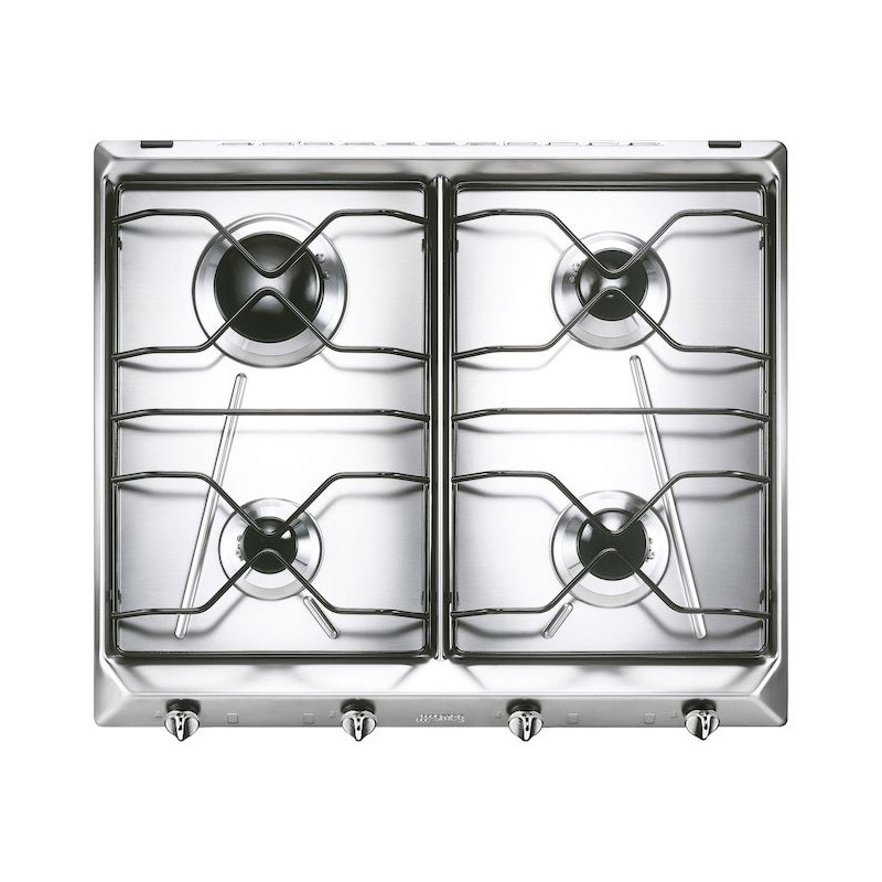 Table de cuisson smeg sv564 3 acier inox 60 cm fab appliances - Table de cuisson smeg ...
