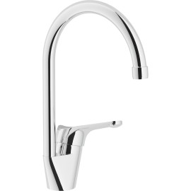 NOBILI TIME SINGLE LEVER SINK MIXER TAP CHROME