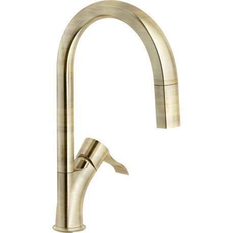 NOBILI SOFI SINGLE LEVER SINK MIXER TAP PULL OUT SPRAY CHROME PLATED