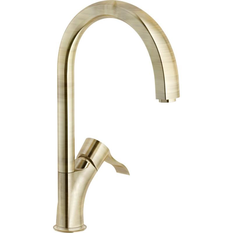Nobili Sofi Single Lever Sink Mixer Tap Bronze Fab Appliances