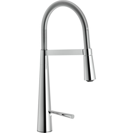 NOBILI LIKID LEVER SINK MIXER TAP PULL OUT SPRAY CHROME PLATED LK00300CR