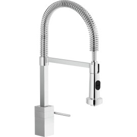 NOBILI CUBE SINGLE LEVER SINK MIXER TAP CHROME PLATED CB00700/3CR