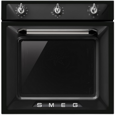 SMEG MULTIFUNCTION OVEN SF6903N VICTORIA AESTHETIC BLACK