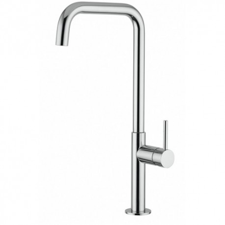 NOBILI SINGLE LEVER SINK MIXER TAP SERIES 'ACQUERELLI' CHROME PLATED