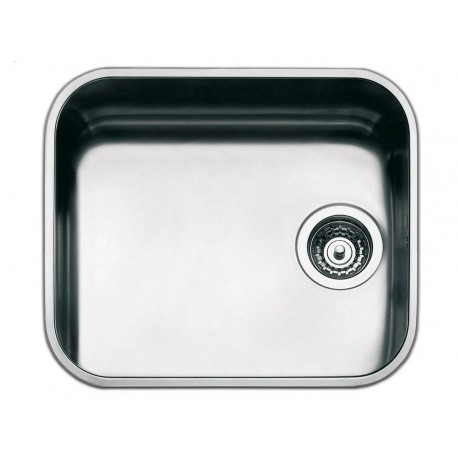 SMEG UM45 UNDERMOUNTED KITCHEN SINK SINGLE BOWL STAINLESS STEEL 45 CM