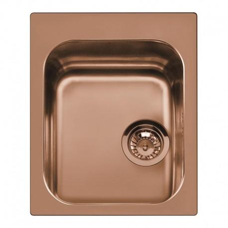 smeg vs34p3ra vier 1 cuve cuivre fab appliances. Black Bedroom Furniture Sets. Home Design Ideas