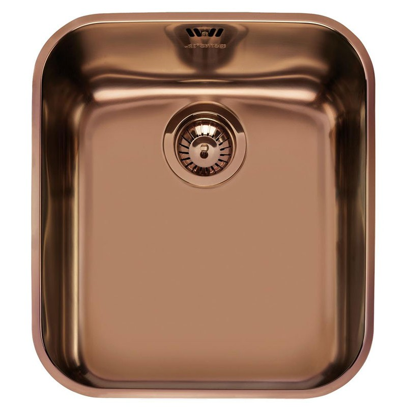 SMEG UM45RA UNDERMOUNTED KITCHEN SINK SINGLE BOWL COPPER 45 CM |FAB...