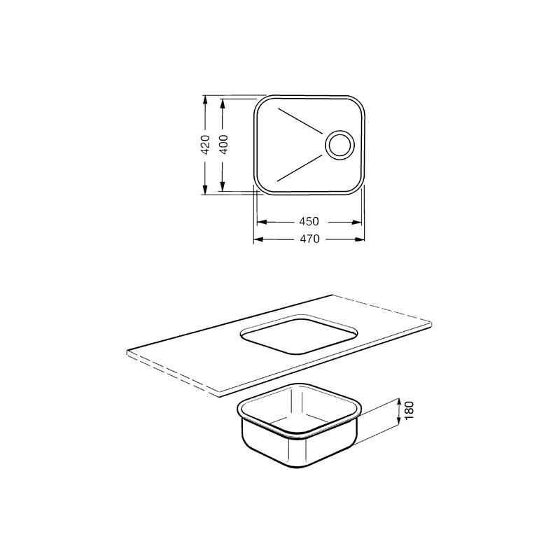 smeg unterbausp le um45ra kupfer fab appliances. Black Bedroom Furniture Sets. Home Design Ideas