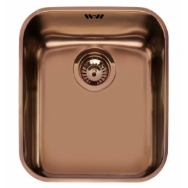 SMEG UM40RA UNDERMOUNTED KITCHEN SINK SINGLE BOWL COPPER 40 CM