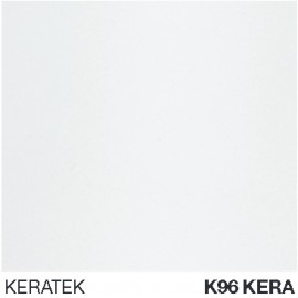 ELLECI KITCHEN SINK BEST 500 2 BOWLS WHITE (KERA 96) MADE IN ITALY