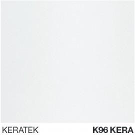 ELLECI KITCHEN SINK BEST 500 2 BOWLS WHITE (KERA 96) MADE IN ITALY
