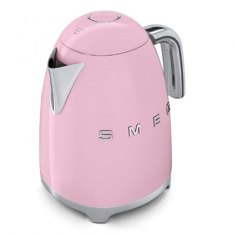 smeg kettle 50 39 s style pink klf01pkeu fab appliances. Black Bedroom Furniture Sets. Home Design Ideas