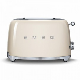 SMEG TOASTER 2 SLICES 50'S STYLE CREAM TSF01CREU