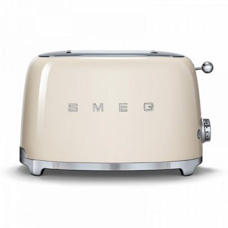 SMEG TOASTER 2 SLICES 50'S STYLE CREAM TSF01CREU