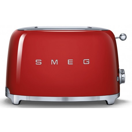 SMEG TOASTER 2 SLICES 50'S STYLE RED TSF01RDEU