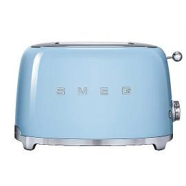 SMEG TOASTER 2 SLICES 50'S STYLE PASTEL BLUE TSF01PBEU
