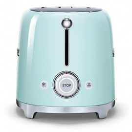 SMEG TOASTER 2 SLICES 50'S STYLE PASTEL GREEN TSF01PGEU