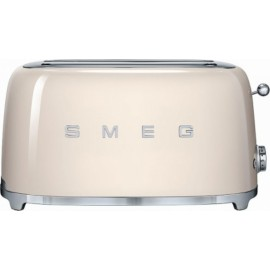SMEG TOASTER 4 SLICES 50'S STYLE CREAM TSF02CREU