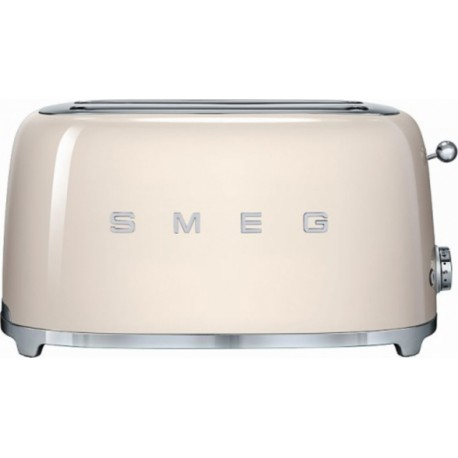 smeg 50er jahre retro stil 4 scheiben toaster tsf02creu creme kos. Black Bedroom Furniture Sets. Home Design Ideas