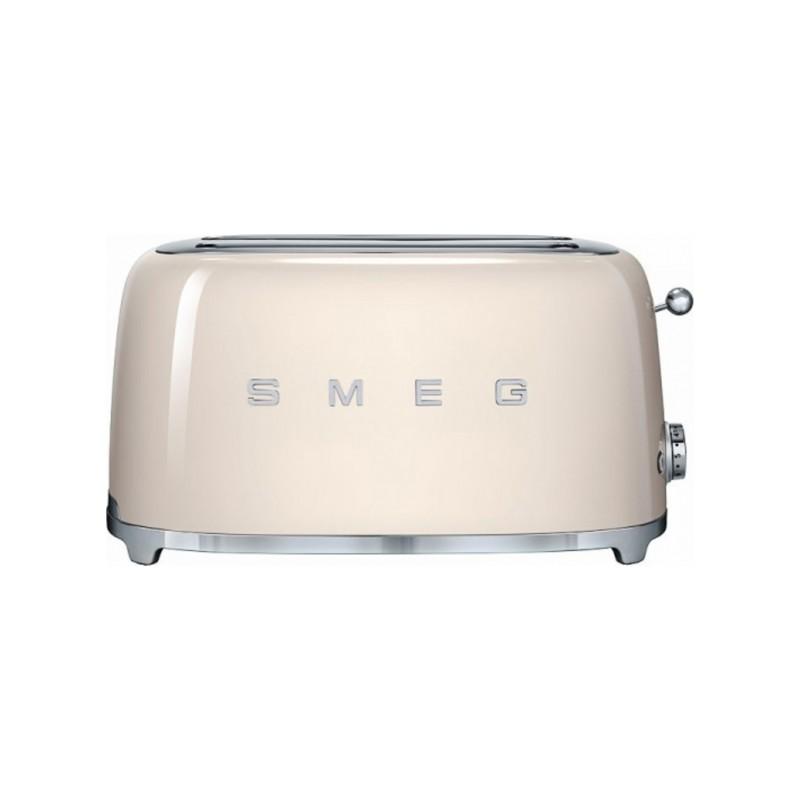smeg 50er jahre retro stil 4 scheiben toaster tsf02creu. Black Bedroom Furniture Sets. Home Design Ideas