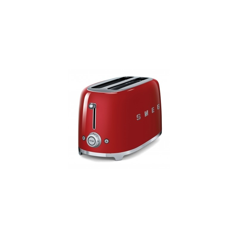 smeg 50er jahre retro stil 4 scheiben toaster tsf02rdeu. Black Bedroom Furniture Sets. Home Design Ideas